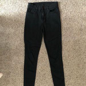 BDG Twig Black Skinny Jeans